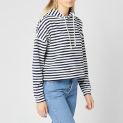 Tommy Jeans Women's TJW Stripe Hoody - Twilight Navy/White