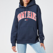 Tommy Jeans Women's TJW Collegiate Logo Hoody - Twilight Navy