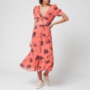MICHAEL MICHAEL KORS Women's Petal Pf Midi Dress - Coral Peach