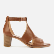 Clarks Women's Kaylin 60 Glad Leather Heeled Sandals - Tan