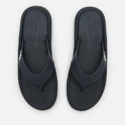 Lacoste Men's Croco 219 Toe Post Sandals - Navy/White