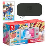 Nintendo Switch Lite (Zacian & Zamazenta Edition) Pokémon Sword Pack