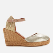 Kurt Geiger London Women's Monty Wedged Sandals - Gold Comb