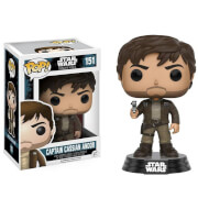 Star Wars Rogue One Cassian Andor Brown Jacket EXC Pop! Vinyl Figure
