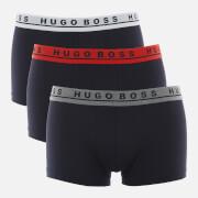 BOSS Hugo Boss Men's 3 Pack Trunks - Navy/Red/Grey