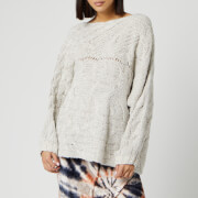 Free People Women's Against The Tide Sweater - Ivory
