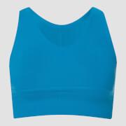 Power Longline Sports Bra - Sea Blue