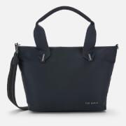 Ted Baker Women's Macieyy Plain Small Nylon Tote Bag - Dark Blue