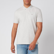 Tommy Jeans Men's Classics Solid Stretch Polo Shirt - Pale Grey Heather