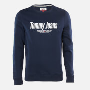 Tommy Jeans Men's Essential Graphic Sweatshirt - Twilight Navy