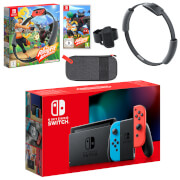 Nintendo Switch (Neon Blue/Neon Red)Ring Fit Adventure Pack