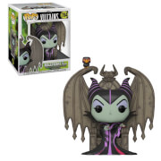 Figurine Pop! Deluxe Maléfique Sur Thrône - Disney Villains