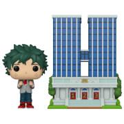 Figurine Pop! Town U.A. High School Avec Deku En Uniforme