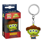 Disney Pixar Anniversary Alien as Woody Funko Pop! Keychain