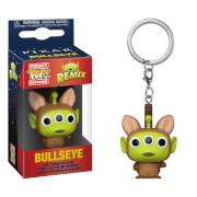 Disney Pixar Alien as Bullseye Pop! Keychain