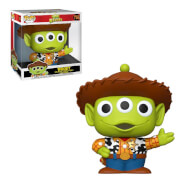 Disney Toy Story - Alieno Vestito da Woody 10''/25cm Figura Funko Pop! Vinyl