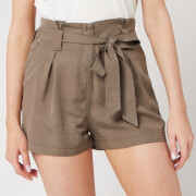 Superdry Women's Desert Paper Bag Shorts - Bungee Cord
