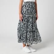 Superdry Women's Margaux Maxi Skirt - Navy Floral