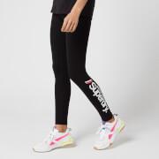 Superdry Women's Logo Legging - Black