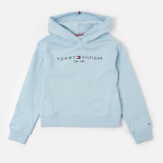 Tommy Kids Girls' Essential Hooded Sweatshirt - Calm Blue