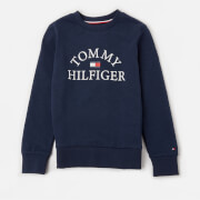 Tommy Kids Boys' Essential Arch Logo Sweatshirt - Twilight Navy