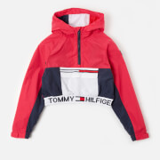 Tommy Kids Girls' Popover Hoodie - Blush Red
