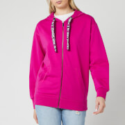 Armani Exchange Women's Full Zip Hoodie - Bright Pink
