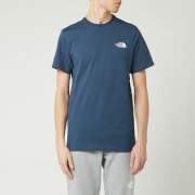 The North Face Men's Simple Dome T-Shirt - Blue Wing Teal