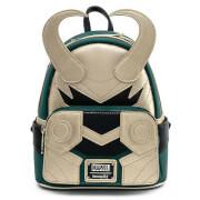 Loungefly Marvel Loki Classic Cosplay Mini Backpack