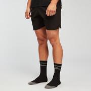 MP Reflective Crew Socks - Black