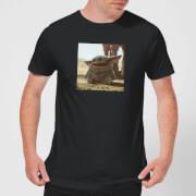 The Mandalorian Baby Yoda Men's T-Shirt - Black