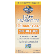 Raw Microbiome Ultimate Care Shelf - 30 Capsules