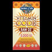 Vitamin Code Raw-D3 5000 IE - 60 Kapseln