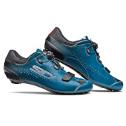 Sidi Sixty Road Shoes - Black/Petrol