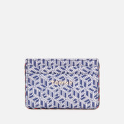 Tommy Hilfiger Women's Iconic Tommy Credit Card Mono - Blue Ink