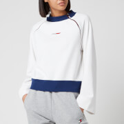 Tommy Sport Women's Wide Sleeve Crew Neck Sweatshirt - White