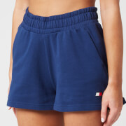 Tommy Sport Women's Runner Fleece Tape Shorts - Blue Ink
