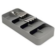 Joseph Joseph DrawerStore Large Compact Cutlery Organiser - Grey