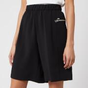 Calvin Klein Women's Travel Crepe Shorts - Black