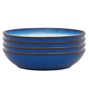 Denby Blue Haze 4 Piece Pasta Bowl Set