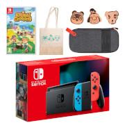 Nintendo Switch (Neon Blue/Neon Red) Animal Crossing: New Horizons Pack