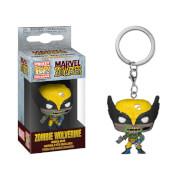 Marvel Zombies Wolverine Funko Pop! Keychain