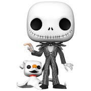 Disney Nightmare Before Christmas - Jack Skeleton con Zero 10''/25cm Figura Funko Pop! Vinyl
