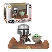 Star Wars The Mandalorian and The Child (Baby Yoda) Pop! Vinyl TV Moment