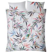 Sara Miller Bamboo Print Duvet Set - White