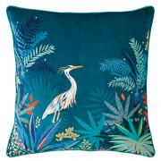 Sara Miller Heron Cushion - Teal