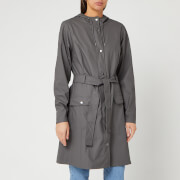 RAINS Women's Curve Jacket - Charcoal