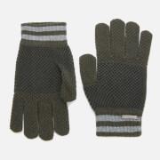 Ted Baker Men's Rushglo Birdseye Merino Blend Gloves - Khaki