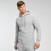 MP Men's Form Zip Up Hoodie - Grey Marl