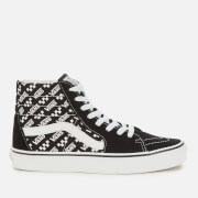 Vans Sk8-Hi Logo Repeat Hi-Top Trainers - Black/True White
